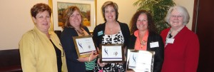 2013 ATHENAPowerLink Recipients with Ilene Shapiro and Norma Rist